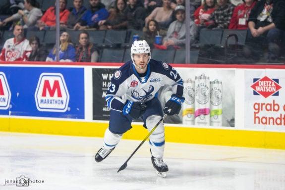 Michael Spacek Manitoba Moose