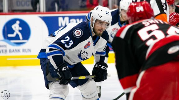 Michael Spacek Manitoba Moose