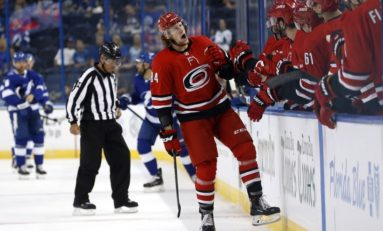 Hurricanes Hoping to See More From Cajkovsky
