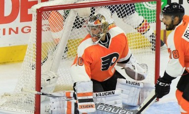 Michal Neuvirth Leading Flyers' Playoff Charge