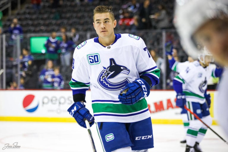 Micheal Ferland Vancouver Canucks