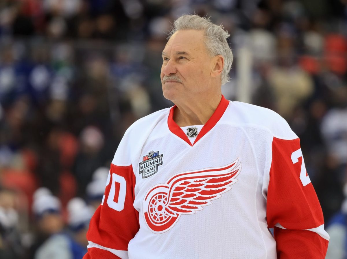 Detroit Red Wings Mickey Redmond