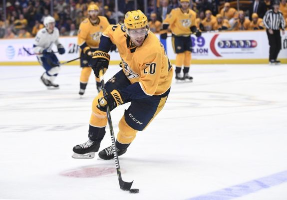 Predators right wing Miikka Salomaki