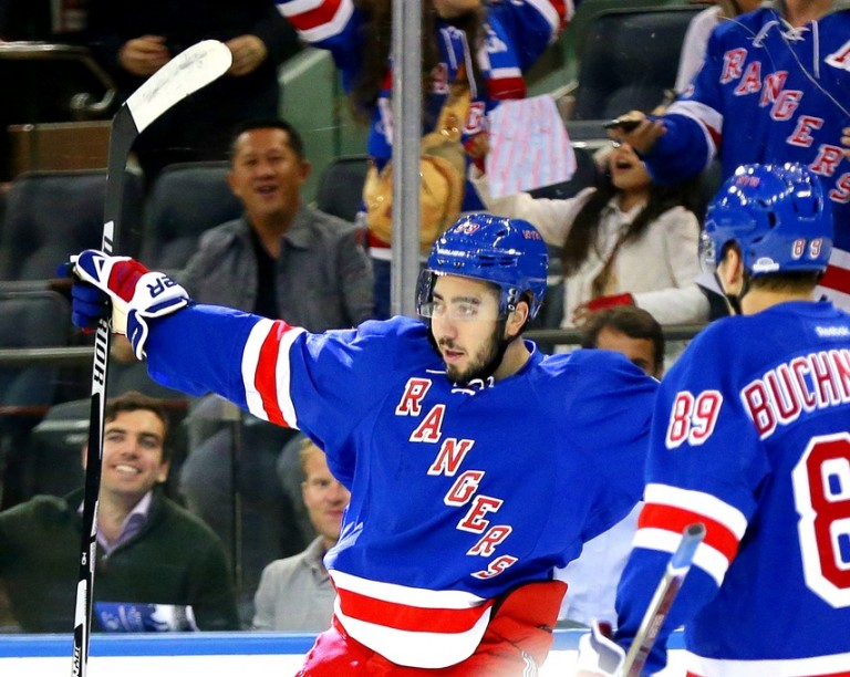 Mika Zibanejad, New York Rangers, NHL
