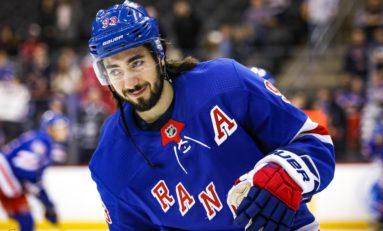 Zibanejad, Lundqvist Lead Rangers to 5-3 Win Over Hurricanes