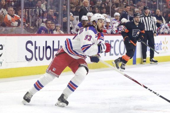 Mika Zibanejad New York Rangers