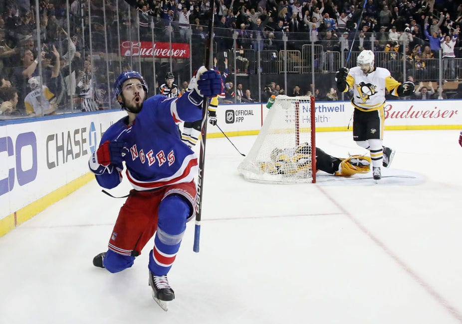 No 'Tanking' for Rangers Sizzling Power Play