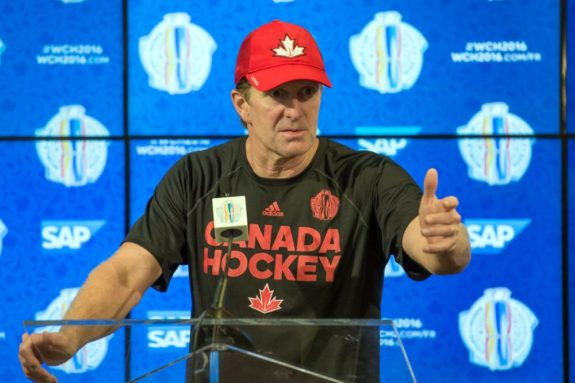 Mike Babcock Team Canada World Cup