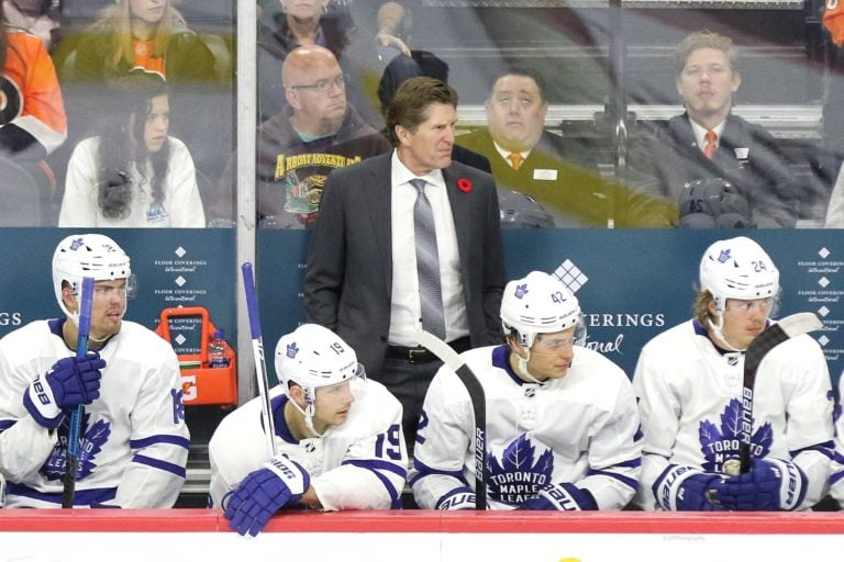 Mike Babcock Toronto Maple Leafs
