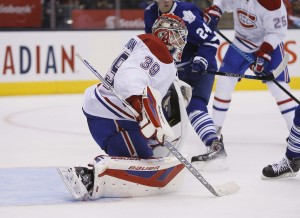Condon has led the Canadiens to a 3-1-2 record in the absence of Carey Price. (John E. Sokolowski-USA TODAY Sports)