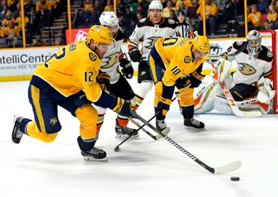 Predators center Mike Fisher