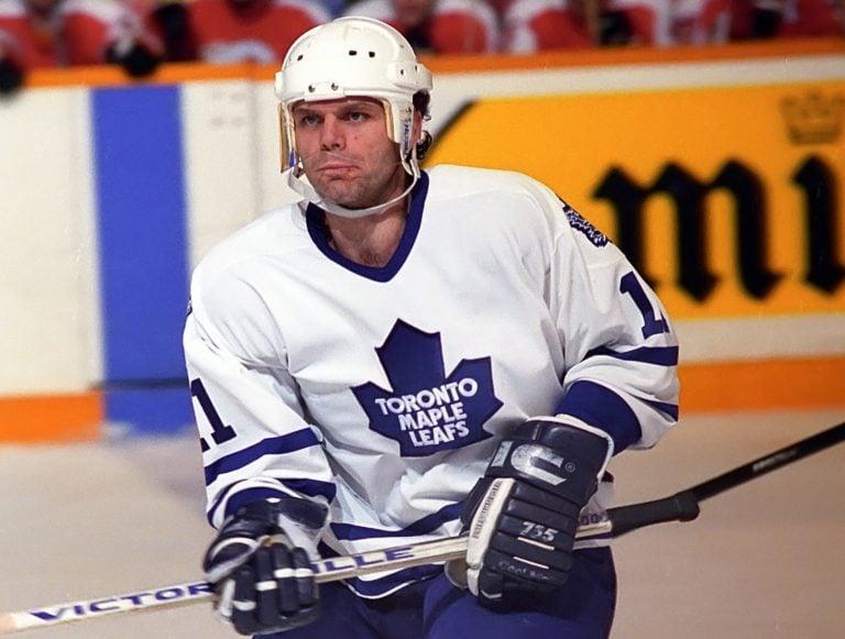 Mike Gartner Toronto Maple Leafs