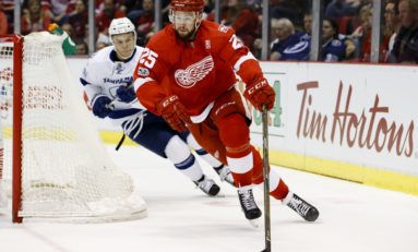 Red Wings Need More Offense from Their Defense