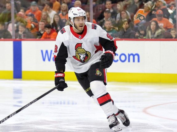Mike Hoffman #68, Ottawa Senators