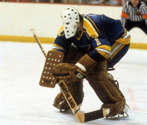 Goalie, Mike Liut, St. Louis Blues