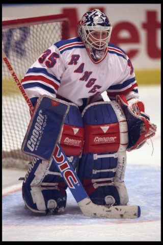Mike Richter New York Rangers