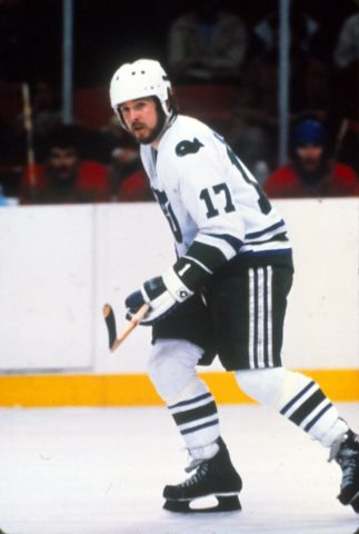 Mike Rogers Hartford Whalers
