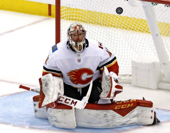 Calgary Flames Mike Smith