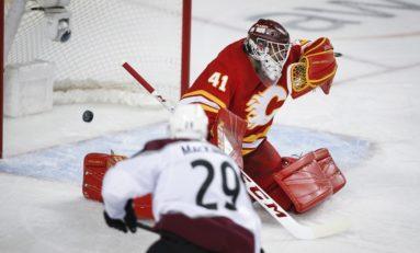 Avalanche Beat Flames - MacKinnon Gets OT Winner to Even Series