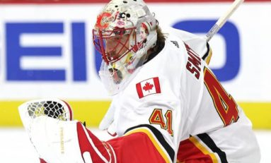 Flames Scramble Without Mike Smith