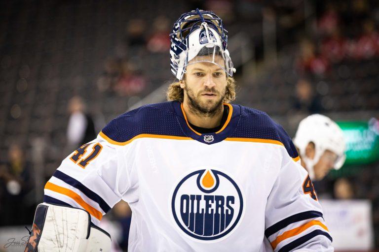 Mike Smith Edmonton Oilers
