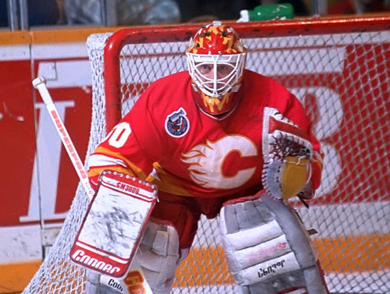 Mike Vernon Calgary Flames