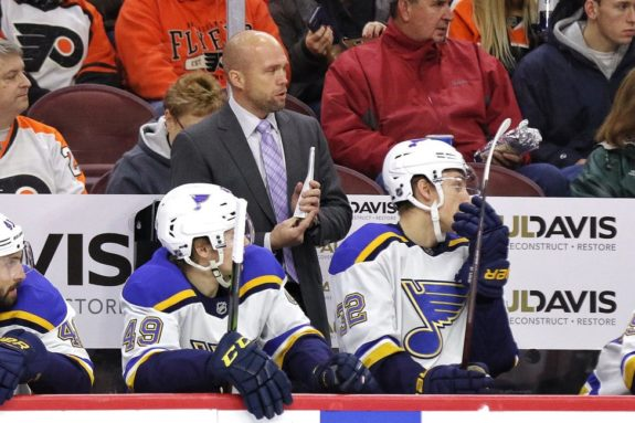 Mike Yeo St. Louis Blues