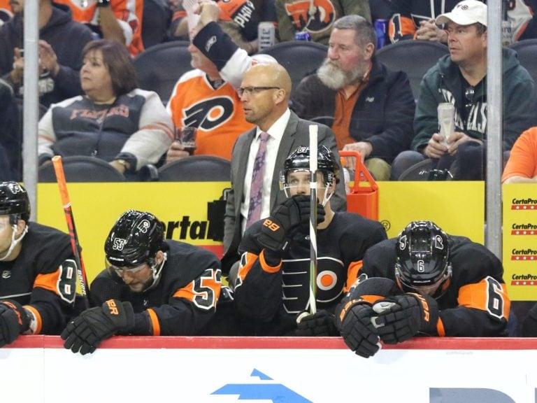 Mike Yeo Philadelphia Flyers