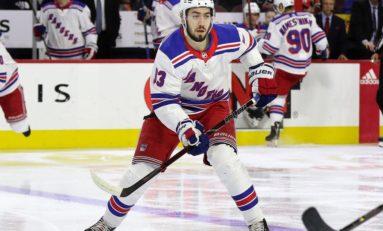 Zibanejad Key to Rangers' Rebuild