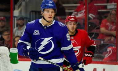 Lightning: Sergachev's Truly Reaching His Potential