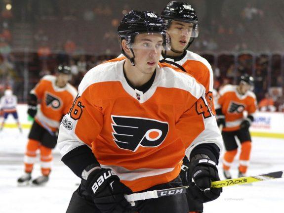 Mikhail Vorobyev, Philadelphia Flyers