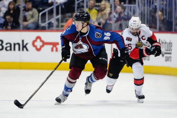 Mikko Rantanen of the Colorado Avalance