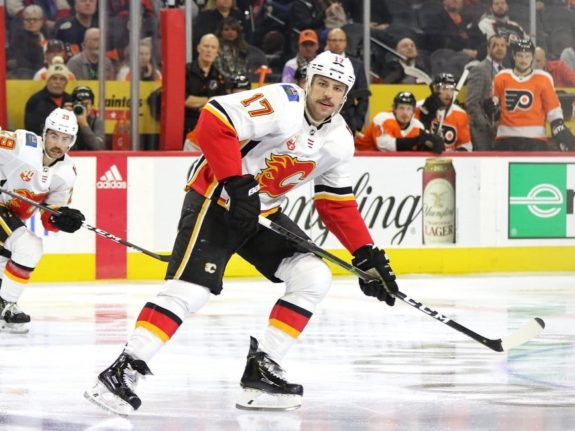Milan Lucic Calgary Flames Edmonton Oilers James Neal Trade Conditional Draft Pick