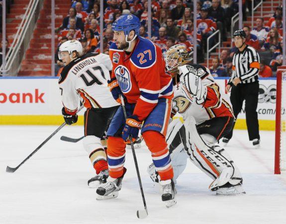 Milan Lucic, Edmonton Oilers, NHL