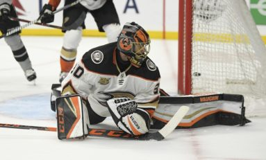 Ducks Goaltending Requires Some Serious Offseason Work