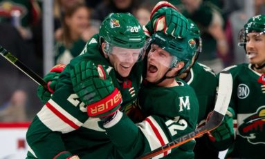 Zuccarello, Staal Lead Wild's Rally to 4-2 Win over Ducks