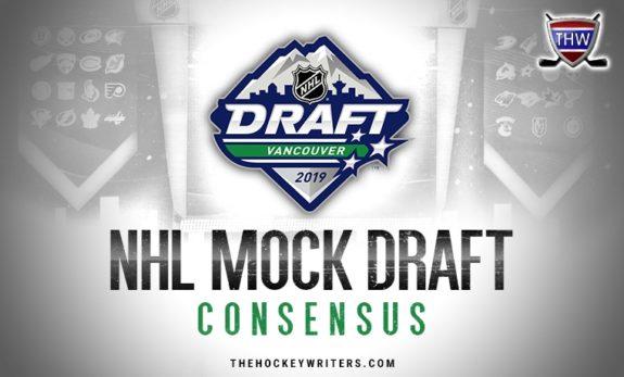 NHL Mock Draft 2019 Consensus