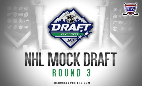 Fisher's 8th Annual NHL Mock Draft: 2019, Round 3