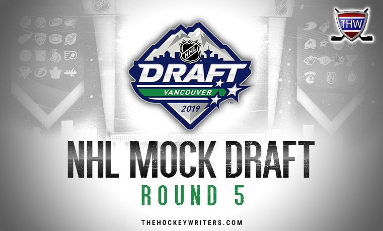 Fisher's 8th Annual NHL Mock Draft: 2019, Round 5