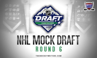 Fisher's 8th Annual NHL Mock Draft: 2019, Round 6