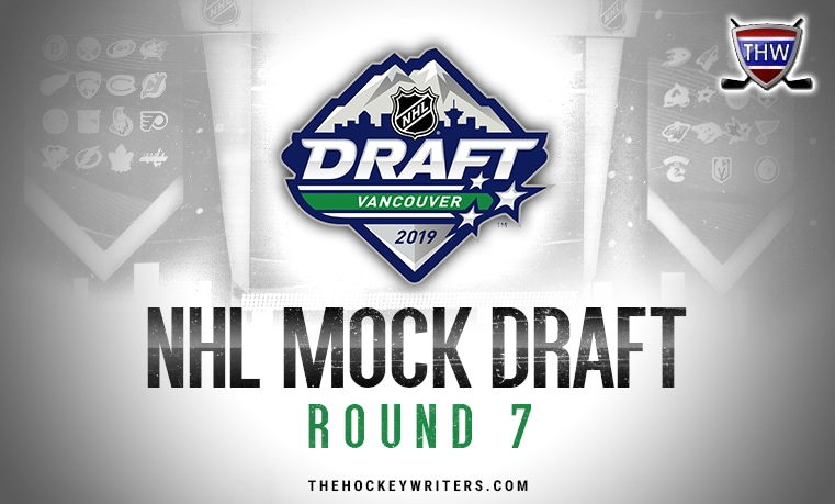 Fisher's 8th Annual NHL Mock Draft: 2019, Round 7