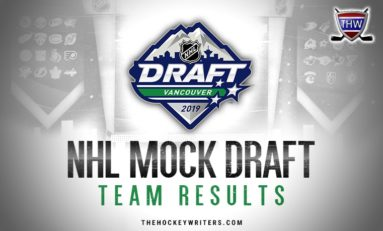 2019 NHL Draft: Consensus Mock, Team Results