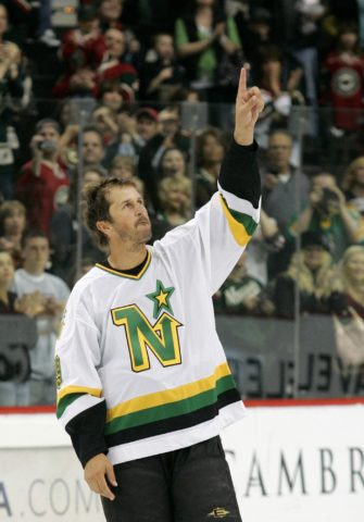 Dallas Stars Mike Modano North Stars