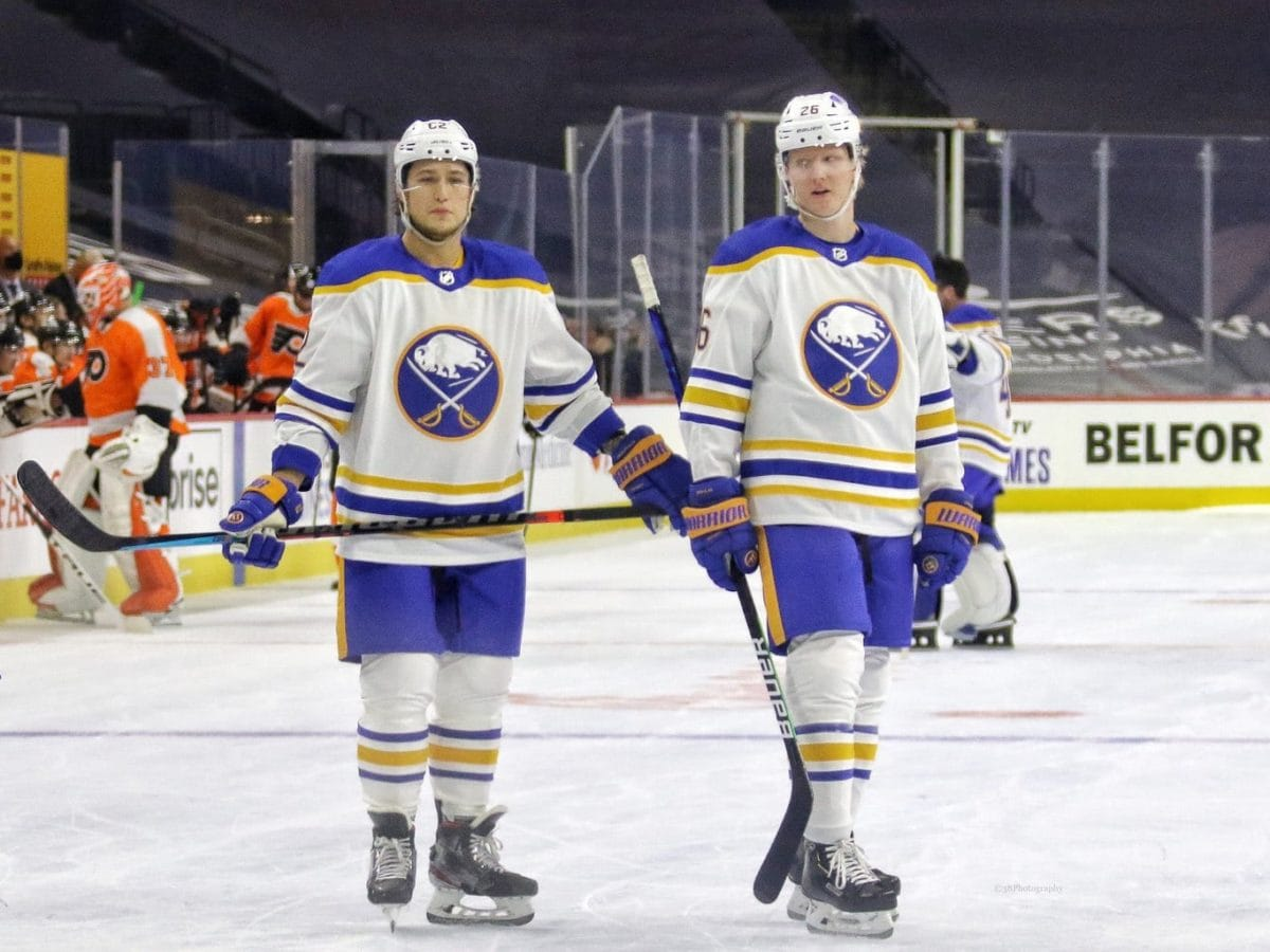 Brandon Montour Rasmus Dahlin Buffalo Sabres