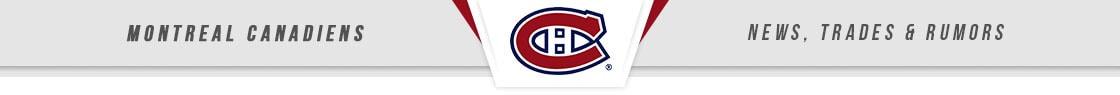 Montreal Canadiens News, Trades & Rumors