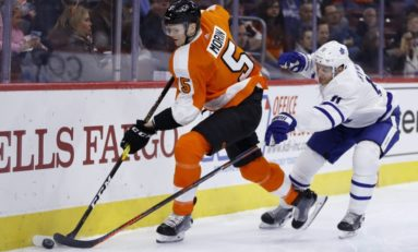 Flyers' Morin Fighting for Future of NHL Career