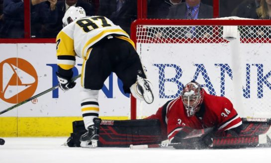 Hurricanes Outlast Penguins - Mrazek Perfect in Shootout