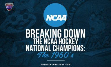 NCAA Hockey National Championship History: The 1960s