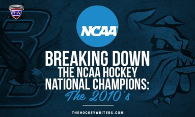 NCAA Hockey National Championship History: The 2010s