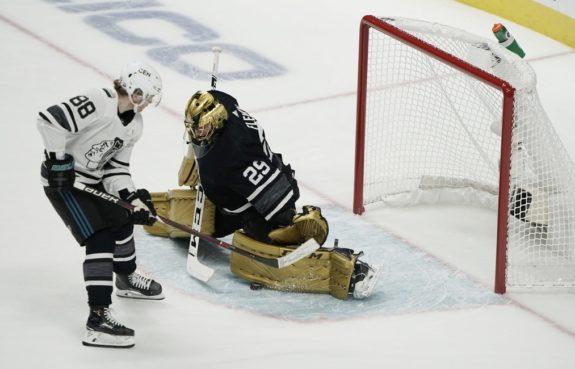 NHL All-Stars Marc-Andre Fleury Patrick Kane
